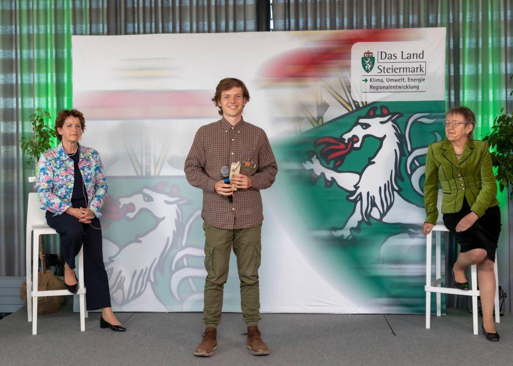 Verleihung der Silberdistel,M. & W. Graf, Biodiversitätspreis des Landes Steiermark